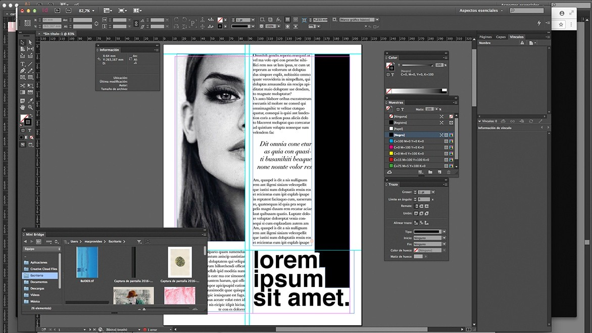 Adobe InDesign CC | La Casa Encendida