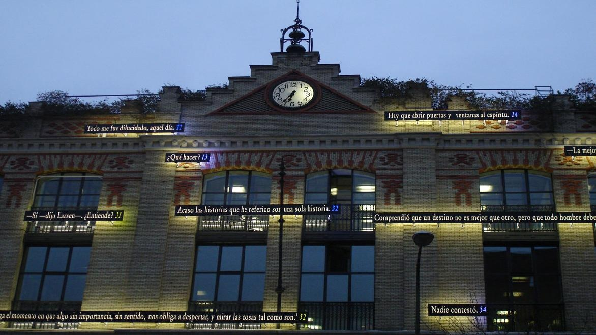 """Al fin creí entender (Madrid) / Located Work"": Joseph Kosuth"