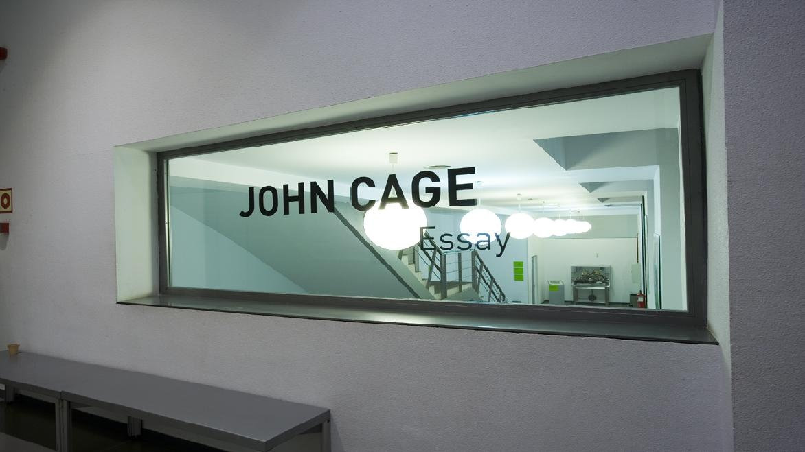 john cage essay John cage quotes, art quotes john cage - from the meaning category: we are simple-minded enough to think that if we were saying something we would use words.