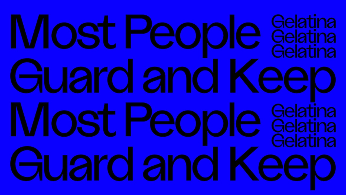 Most People Guard and Keep: Claudia Pagès + Esther Gatón