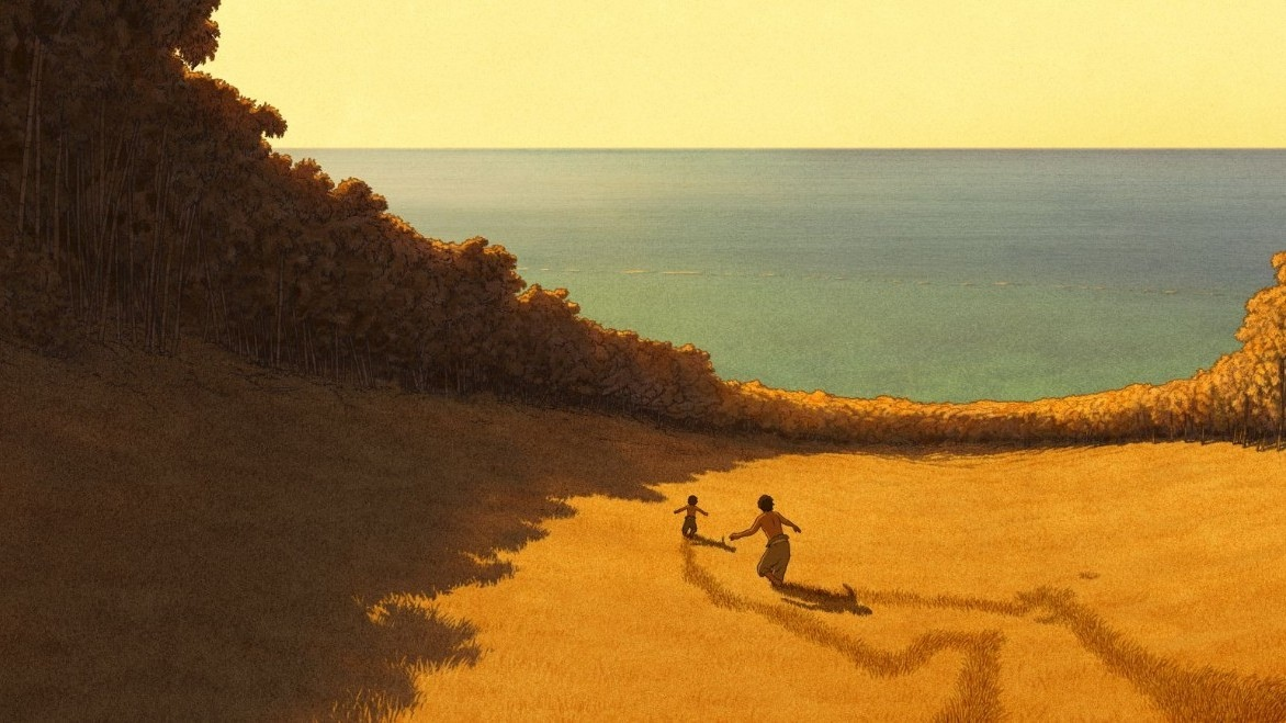 """""""The Red Turtle"""" by Michael Dudok de Wit"""
