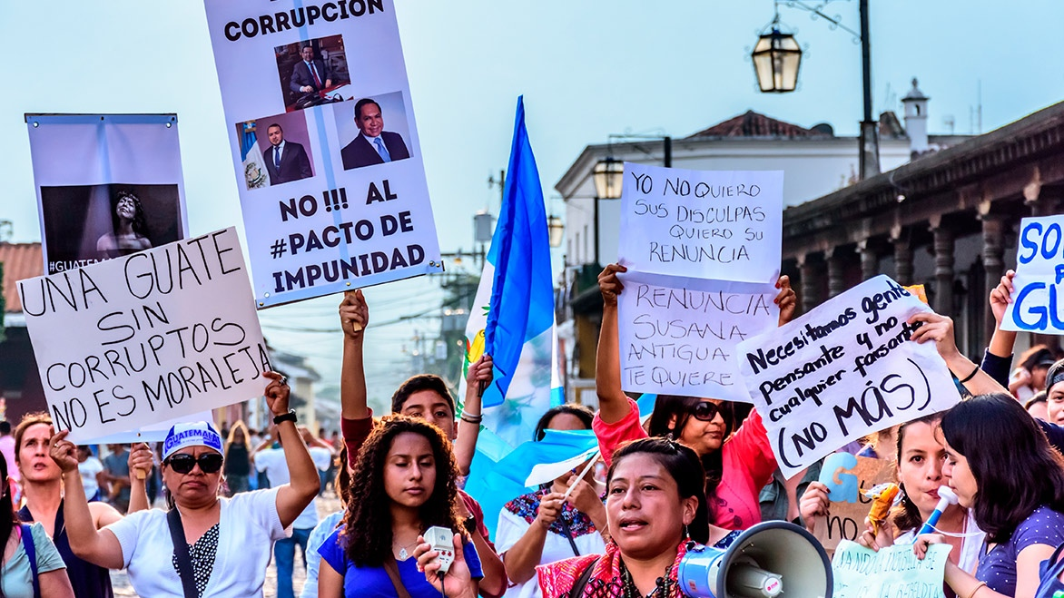 Strengthening Democracy: The Fight against Impunity and Corruption