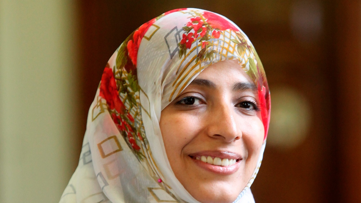 """Freedom of Speech and Human Rights in Yemen"" by Tawakkol Karman"