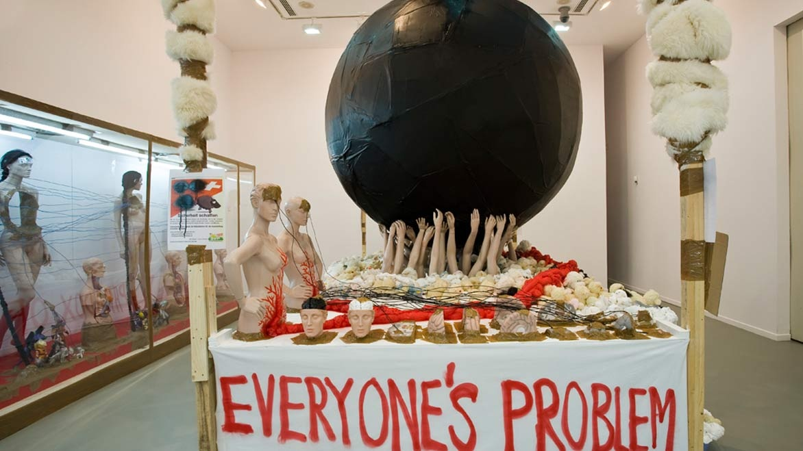 """The Subjecters"": Thomas Hirschhorn"