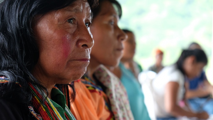 Internal Displacement: Women in Colombia