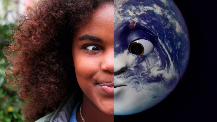 Earth Speakr: Tu presente es mi futuro