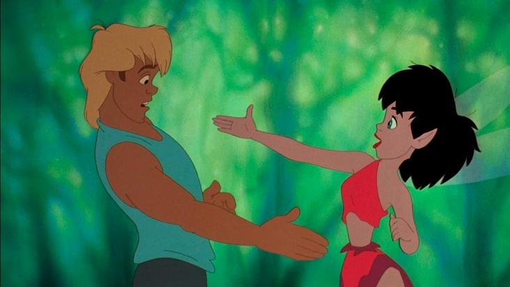 """Ferngully: las aventuras de Zak y Crysta"", de Bill Kroyer"