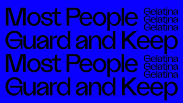 Most People Guard and Keep: María Salgado + Itziar Okariz
