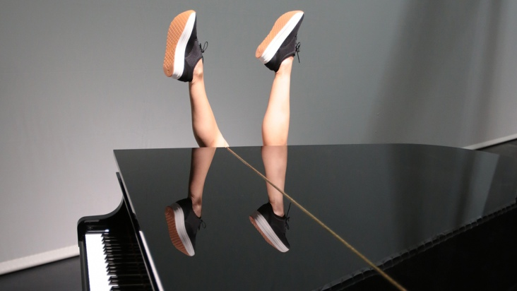 """""""Piano and Dancer"""" by Instituto Stocos - Muriel Romero and Pablo Palacio"""