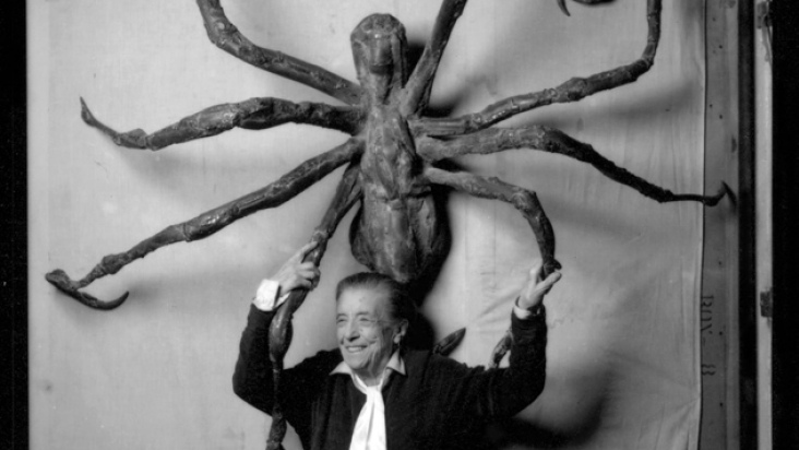 Louise Bourgeois. The Spider, The Mistress and the Tangerine