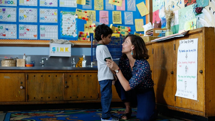 """The Kindergarten Teacher"", de Sara Colangelo"