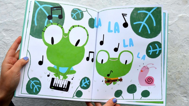 Crea tu propio cuaderno Croak Roll