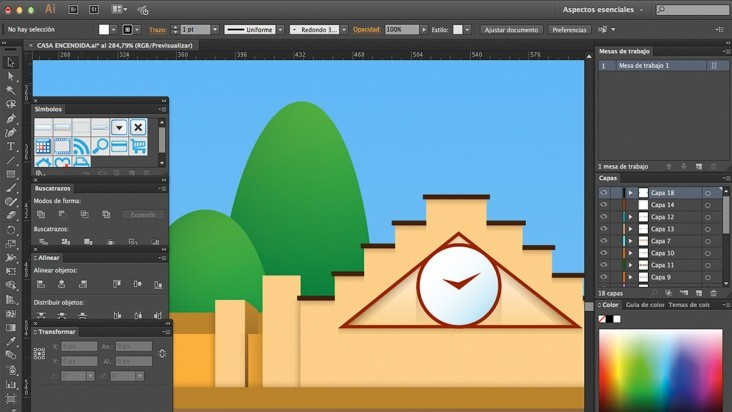 Adobe Illustrator CC- 12h